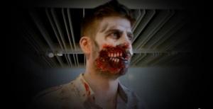 Piqué in versione zombi
