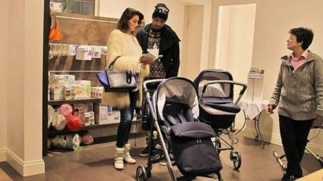 Melissa e Boa... shopping premaman