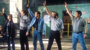 """Scena del film """"Full Monty"""""""