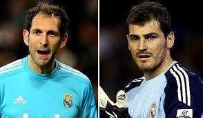 Diego Lopez e Iker Casillas