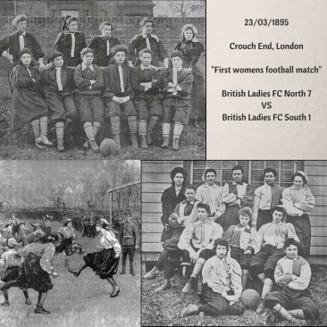 23-03-1895Crouch-End-London-The-first-womens-football-match
